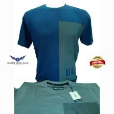 Kaos Pria Lengan Pendek / Baju Atasan Pria Reguler Fit Merk Cressida Original