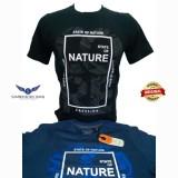 Jual Kaos Pria Lengan Pendek Warna Biru Dan Hitam Nature Bahan Bagus Kualitas Top Merk Cressida Asli Cressida Original