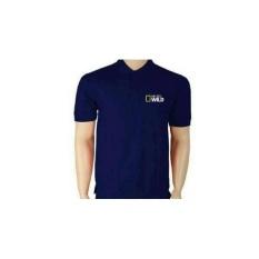 Kaos Pria Polo Shirt Polo Tshirt National Geographic Wild Navy One Tshirt Diskon 40