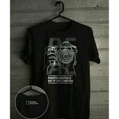 Promo Kaos Pria Tshirt Big Size Xxxl Photographi Akhir Tahun
