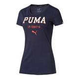Beli Kaos Puma Style Athl Tee W 83907306 Navy Puma