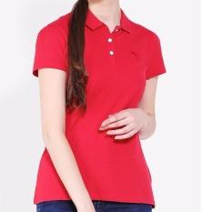 Kaos PUMA wanita ESS POLO 83179827 -Merah