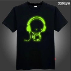 Katalog Kaos Radio Boy Glow In The Dark Hitam Terbaru