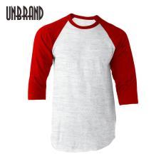 T-Shirt Raglan Lengan Merah Paling Murah Di LAZADA
