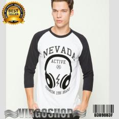 Kaos Raglan NEVADA Hight Quality Virgoshop Clothing