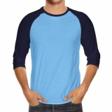 Jual Kaos Raglan Polos Walexa Original Biru Muda Navy Walexa Clothing Online