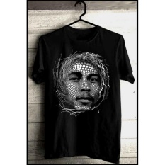 Kaos reggae Band bob marley Rasta Distro Murah Baju,Pakaian Bandung