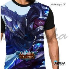 Beli Kaos Sablon 3D Mobile Legend Argus Dd Kredit Jawa Timur