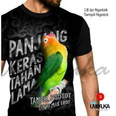 kaos sablon 3D umakuka love bird 01