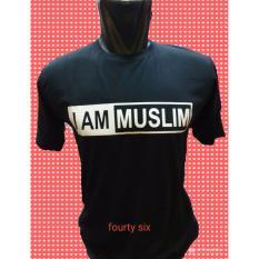 Kaos Sablon Atasan Pria T-Shirt Pakaian Fashion Slimfit Pendek O Neck