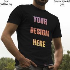 Kaos Satuan Sablon Print Dtg Desain Sendiri A4 Kaos Warna - Wk6sb4