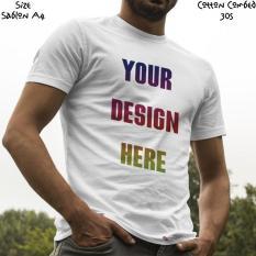 Kaos Satuan Sablon Print Dtg Desain Sendiri A4 - Kwttb0