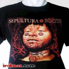 Kaos Sepultura Roots Album - Kode SPT31