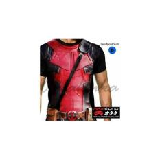 Harga Kaos Super Hero Deadpool Suits Terbaik