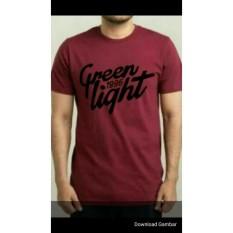 Kaos / T-Shirt / Baju / Oblong GREEN LIGHT