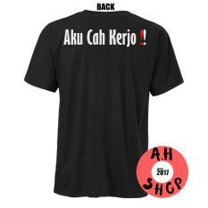 Harga Kaos T Shirt Distro Kaos Custom Pria Wanita Cewek Aku Cah Kerjo Seken