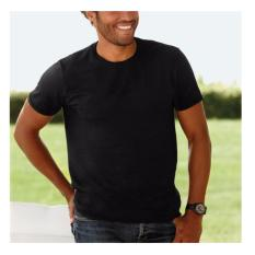 Harga Kaos T Shirt Katun O Neck Lengan Pendek Hitam Y S Eco Soft Asli