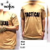Cara Beli Kaos Tactical Lenagan Pendek Kaos Outdor Kaos Army Kaos Police Cream