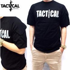 Jual Kaos Tactical Lenagan Pendek Kaos Outdor Kaos Army Kaos Police Hitam Satu Set