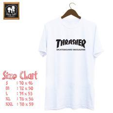 Kaos Trasher Cotton Combed 20S Premium Quality Kaos Diskon