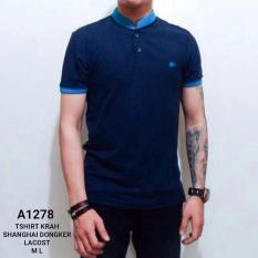 Review Tentang Kaos Tshirt Krah Shanghai Dongker Lacost