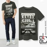 Beli Kaos Twotone T Shirt Okechuku Print London Di Dki Jakarta