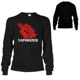 Harga Termurah Kaos Vaporizer Vape Liqued T Shirt Lengan Panjang Black Premium