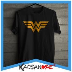Situs Review Kaos Wonder Woman Logo Film Dc Comics Tshirt Kaosanwae