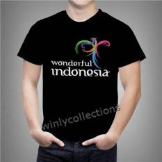 Kaos Wonderful Indonesia 2 Uk Anak Dan Dewasa ( 0 - L )