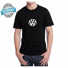 Kaos55 Pria / Kaos Cowo Lengan Pendek VW - Hitam