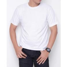 Spesifikasi Kaos86 Kaos Polos T Shirt O Neck Lengan Pendek Putih Yang Bagus Dan Murah