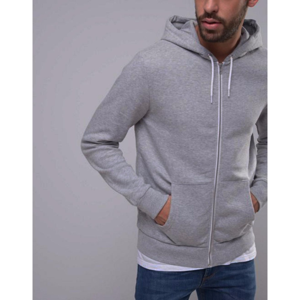 Beli sekarang KaosBro - Jaket Hoodie Zipper Polos - Abu Misty - Unisex  terbaik murah - Hanya Rp67.414 4535460e49