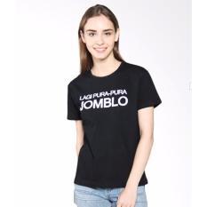 KaosBro - Kaos Cewek / T-Shirt Wanita / Tumblr Tee Pura Pura Jomblo -