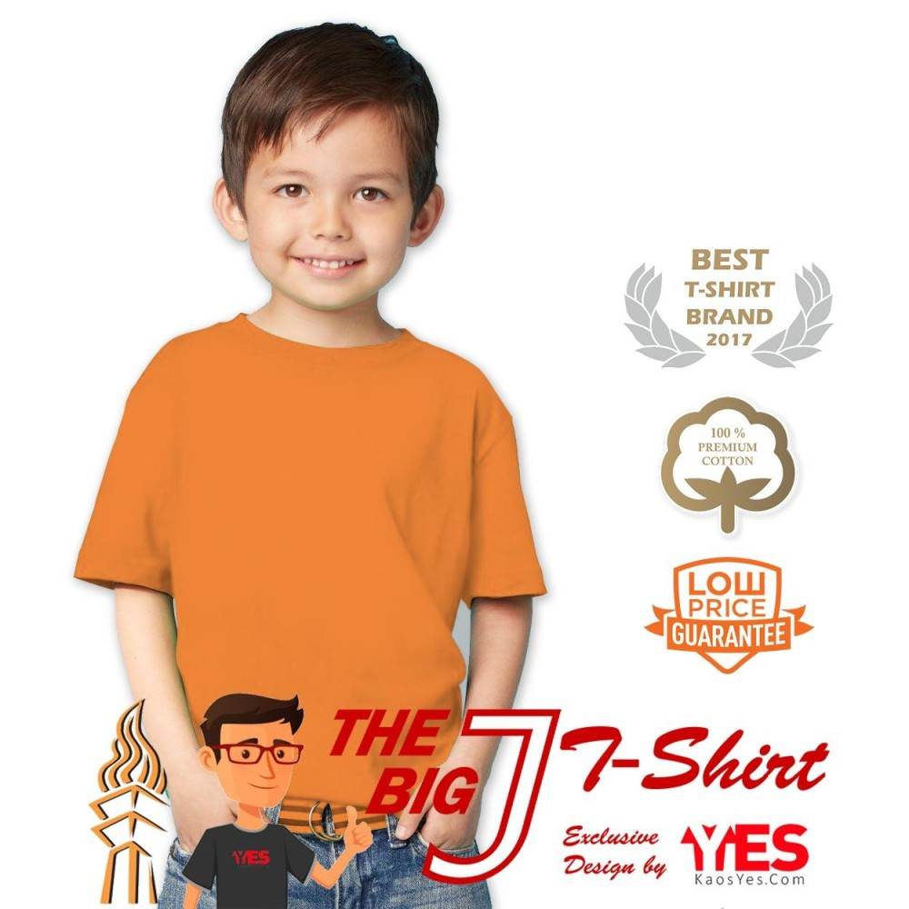 Harga Murah Kaosyes T Shirt Kaos Polos Anak Pria Info Jualan Polo