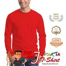 KaosYES T-Shirt Kaos Polos Lengan Panjang