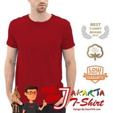KaosYES T-Shirt Kaos Polos Lengan Pendek