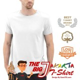 Review Kaosyes T Shirt Kaos Polos Lengan Pendek The Big J Putih Kaosyes
