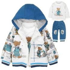 Toko Sayang Katun Hidup Model Musim Semi Dan Musim Gugur Sayang Pakaian Anak Laki Laki Biru Dekat Sini