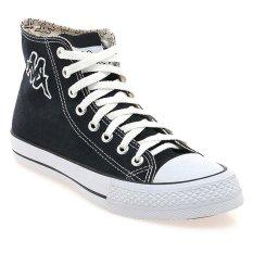 Kappa Masone Sepatu Sneaker - Hitam-Putih