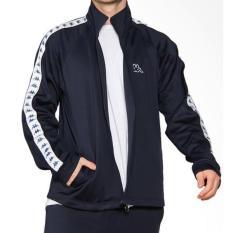 Kappa Omini Banda Jacket - Navy (Free Topi)