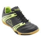 Spesifikasi Kappa Sepatu Futsal T 2 Hitam Hijau Online