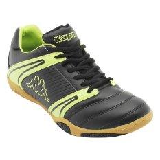 Jual Beli Online Kappa Sepatu Futsal T 2 Hitam Hijau