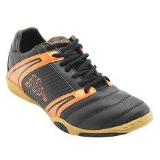 Toko Kappa Sepatu Futsal T 2 Hitam Oranye Kappa Indonesia