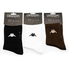Kappa Socks KS-2 - Bk/White/Brn