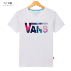 Karakter Pria Kemeja Leher Bulat T-shirt (Vans-Putih) OE427FAAAYS64TANID-79134375