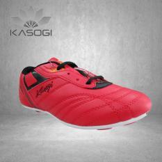 Kasogi Ozil Red-Sepatu Futsal Anak laki laki