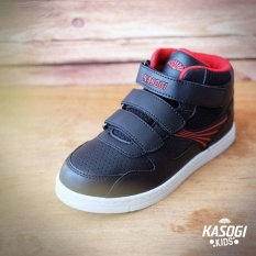 Spesifikasi Kasogi Roma Black Strip Sepatu Anak Unisex Sepatu Anak Laki Sepatu Anak Perempuan Murah