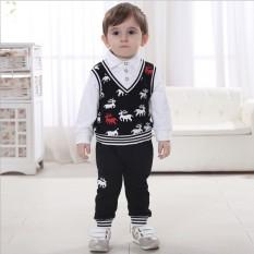 Diskon Kasual Bayi Dan Anak Anak Kecil Kapas Lengan Panjang Jaket Putih Akhir Tahun