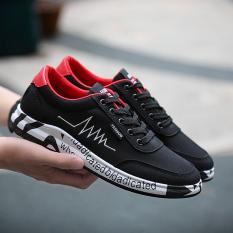 I Kasual Pria Bernapas Sepatu Sepatu Pria Putih Dan Merah Tiongkok Diskon 50