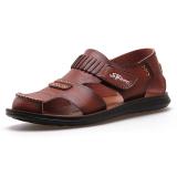 Harga Kasual Kulit Yang Berat Itu Bernapas Baotou Sandal Dan Sandal Pria Dan Sandal 207 Coklat 207 Coklat Sepatu Pria Sepatu Sendal Baru